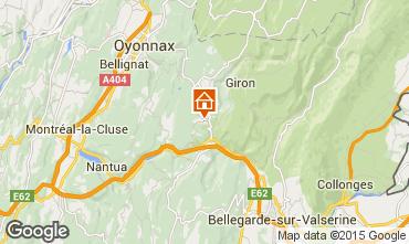 Mappa La Plagne Monolocale 2153