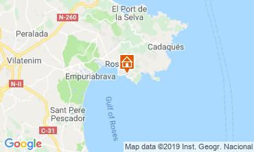 Mappa Rosas Appartamento 117038