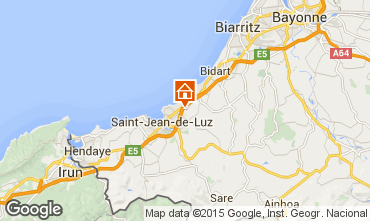 Mappa Saint Jean de Luz Appartamento 97030