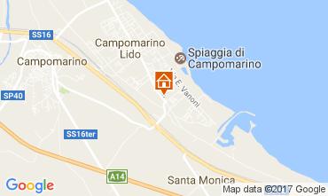 Mappa Campomarino Appartamento 107533