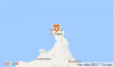 Mappa San Vito lo Capo Appartamento 75045