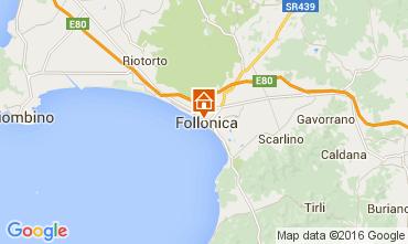 Mappa Follonica Appartamento 85671
