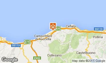 Mappa Cefalù Appartamento 85238