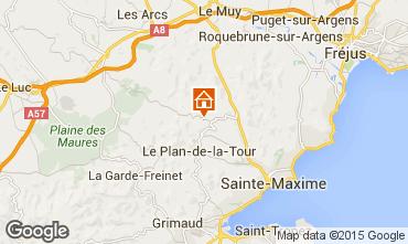 Mappa Saint Tropez Villa  87387
