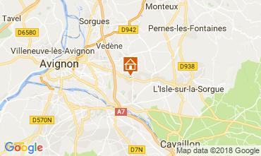 Mappa Avignone Casa 114143
