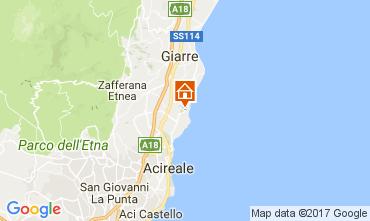 Mappa Acireale Villa  83669