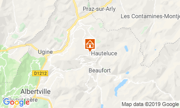 Mappa Les Saisies Chalet 51561