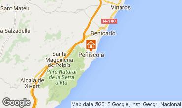 Mappa Peñíscola Villa  66790