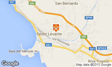 Mappa Sestri Levante Appartamento 57460
