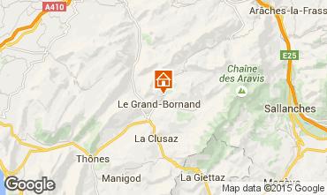 Mappa Le Grand Bornand Chalet 86535