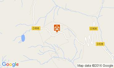 Mappa Praz de Lys Sommand Chalet 103426