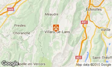 Mappa Villard de Lans - Corrençon en Vercors Villa  101987