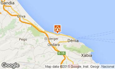 Mappa Dénia Appartamento 9697