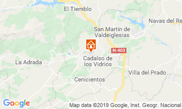 Mappa Móstoles Villa  117755