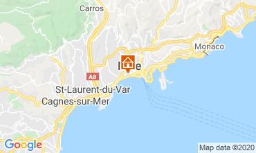 Mappa Nizza Appartamento 108835