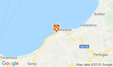 Mappa Castelsardo Appartamento 116220