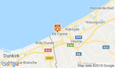 Mappa De Panne Appartamento 24469