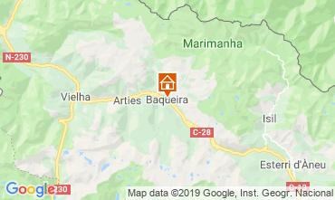 Mappa Baqueira-Beret Appartamento 73617
