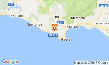 Mappa Sperlonga Villa  108938