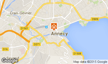 Mappa Annecy Agriturismo 94014