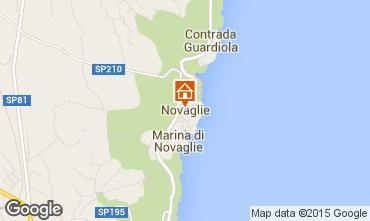 Mappa Marina di Novaglie Villa  84689