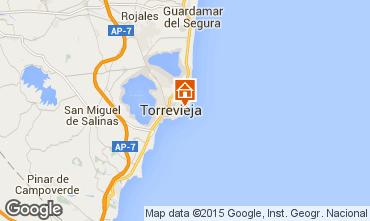 Mappa Torrevieja Appartamento 55632