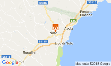 Mappa Noto Casa 113314