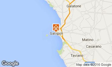 Mappa Gallipoli Appartamento 102767