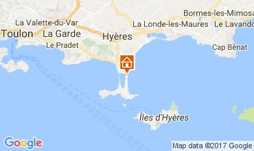 Mappa Hyères Appartamento 111063