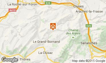 Mappa Le Grand Bornand Appartamento 95442