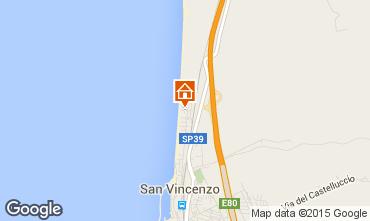 Mappa San Vincenzo Appartamento 97890