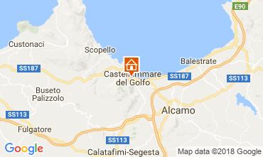 Mappa Castellammare del Golfo Appartamento 113998