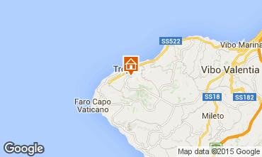 Mappa Tropea Appartamento 76371