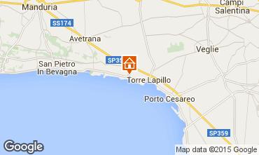 Mappa Porto Cesareo Appartamento 61664