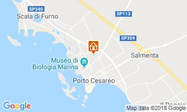 Mappa Porto Cesareo Appartamento 116345