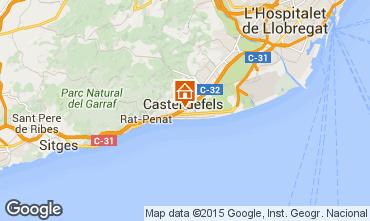 Mappa Casteldefels Appartamento 59696