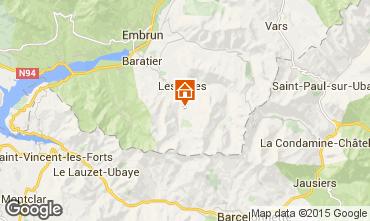 Mappa Les Orres Appartamento 16050