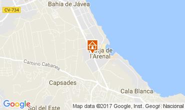 Mappa Jávea Appartamento 112514