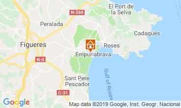 Mappa Empuriabrava Villa  116391