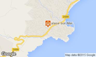 Mappa Cavalaire-sur-Mer Appartamento 29401