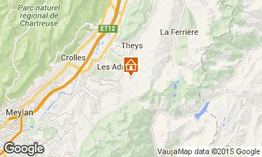 Mappa Les Sept Laux Appartamento 2808