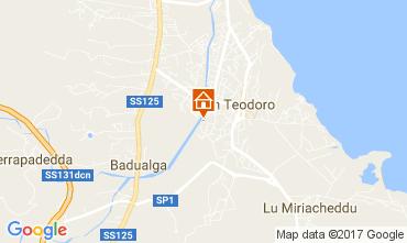 Mappa San Teodoro Villa  109590