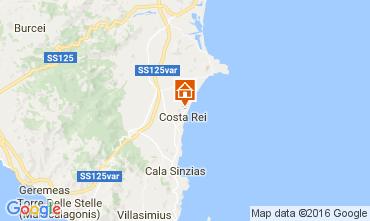 Mappa Costa Rei Appartamento 68890
