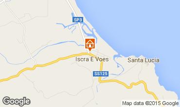 Mappa La Caletta Casa 52117