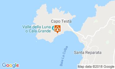 Mappa Santa Teresa di Gallura Villa  90063