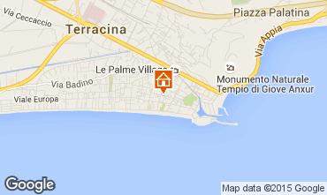 Mappa Terracina Appartamento 101697