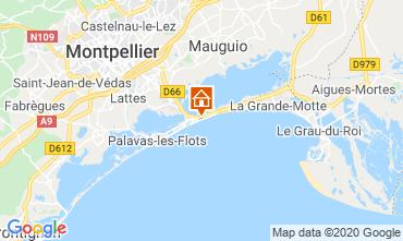 Mappa Montpellier Appartamento 112750