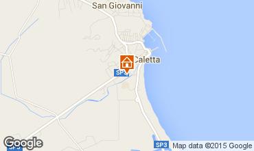 Mappa La Caletta Appartamento 68790