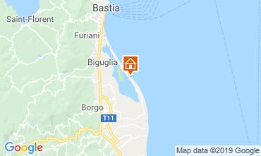 Mappa Bastia Appartamento 117751