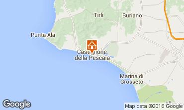 Mappa Castiglione della Pescaia Appartamento 103015